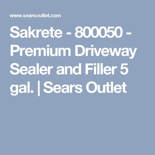 Sakrete - 800050 - Premium Driveway Sealer and Filler 5 gal. | Sears Outlet