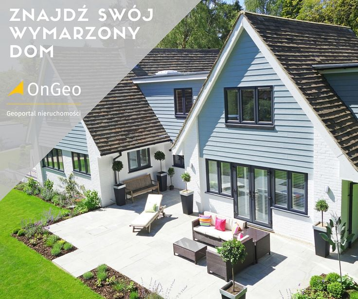 Znajdź swój wymarzony dom na OnGeo #dreamhouse #Dom #nieruchomosci #OnGeo