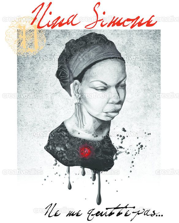 Go vote for my husband's Nina Simone Piece that made it into the finals on CreativeAllies.com!!! He's an amazing artist and deserves your support!!!!!