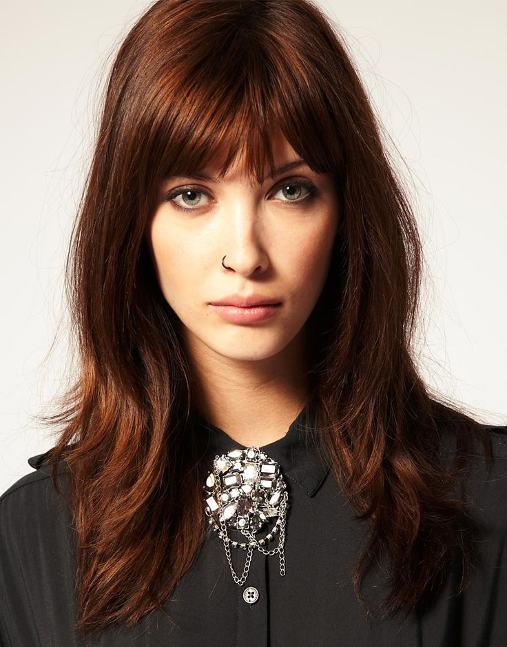 The 25 best copper brown hair ideas on pinterest fall auburn bangs maybe i should just trim some so theyre dark copper hairbrown hair copper highlightsauburn pmusecretfo Image collections