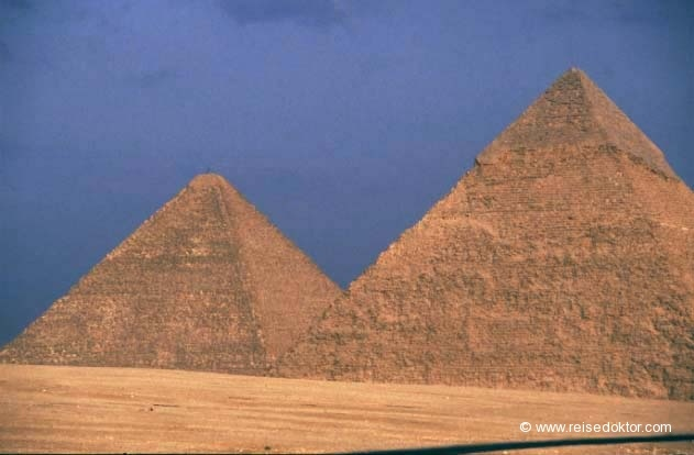 Pyramiden Ägypten  www.reisedoktor.com