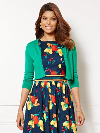 Shop Eva Mendes Collection - Edie Cardigan . Find your perfect size online at the best price at New York & Company.