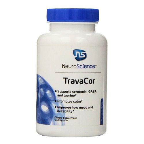 TravaCor claims to lessen stress and anxiety and provide a calming effect to the mind.