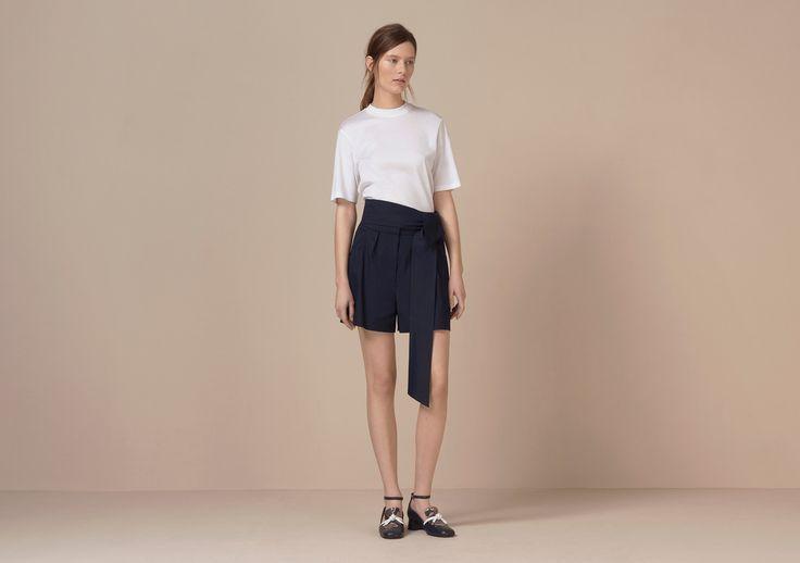 Oakden Tailored Tie Shorts - Finery London | UK