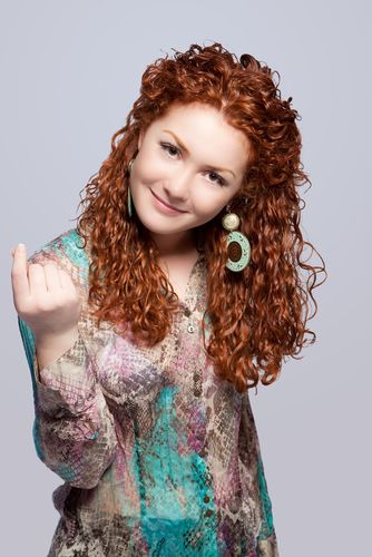 funky red long curly hairstyle  How to: Read more at http://www.latest-hairstyles.com/long/curly.html#pKVoO8usZZJAi5fQ.99