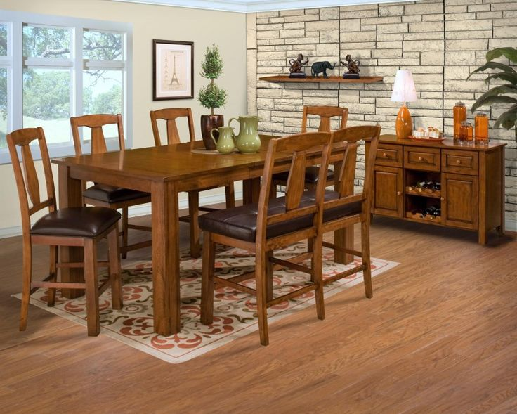 Rustic Dining Room Design With Traditional Nuance Admirable Sets Ideas For Walls Informal