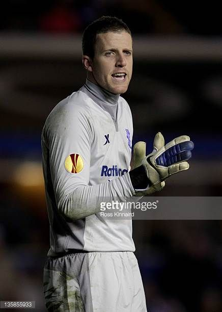 Colin Doyle of Birmingham City looks on during the UEFA Europa League group H match between Birmingham City FC and NK Maribor at St Andrews on...