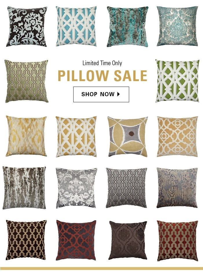 Accessorize Into Spring With Chic New Pillows At Z Gallerie! Now On Sale  For A