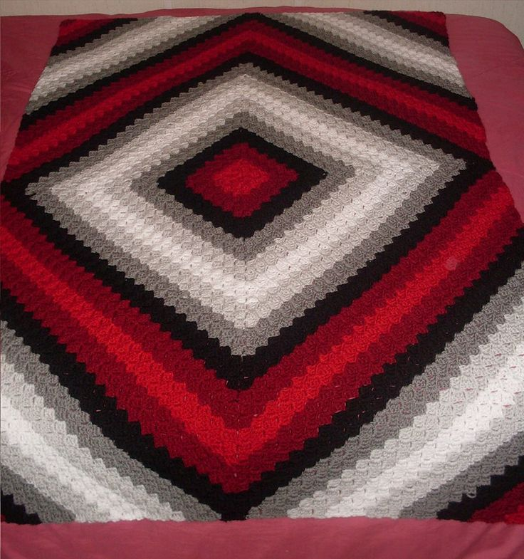 C2c Illusion Blanket Pattern By Trish Smith Crochet