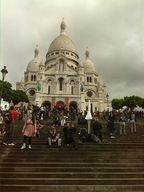 Day four: sacré-cœur and Montmartre... beautiful place like from fairytale :) #ParisByDay