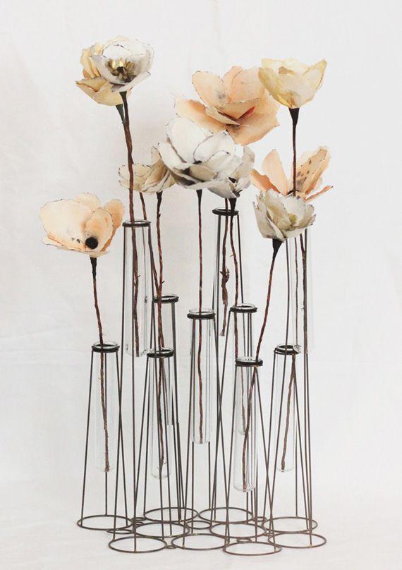 DIY watercolor paper flower | Photo   Design by Kelli Murray   Bloem Hill Florals | 100 Layer Cake