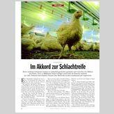ERNÄHRUNG: Im Akkord zur Schlachtreife - DER SPIEGEL 7/2011