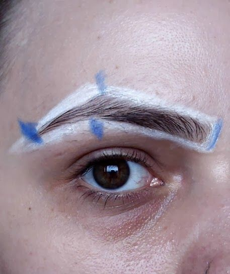 How To Get The Perfect Brows - Good for mapping out your ...