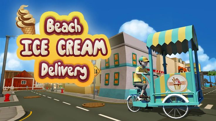Beach Ice Cream Delivery - screenshot