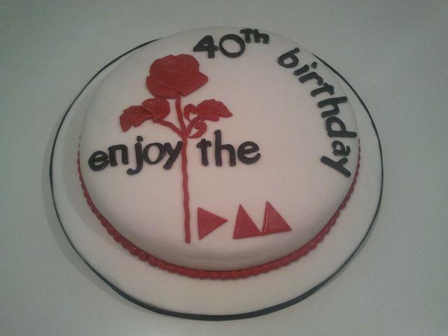 Cecilia's birthday my special friend - Love Depeche Mode!!!