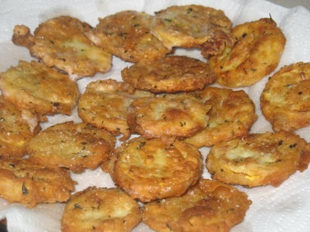 Fried Yellow Squash from Food.com: This recipe is an old favorite. I am certain everyone prepares it this way at sometime or another. I can't imagine a summer that would pass without having this at least once a week when the harvest is in