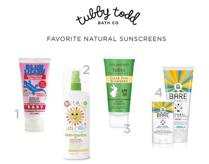 Best all natural sunscreen for kids baby child infant toddler newborn safe sunscreen ingredient chemical free