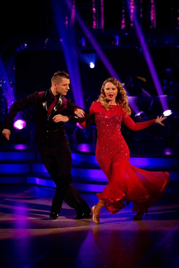 Kimberley and Pasha - Strictly Come Dancing - fab dress, fab pair.