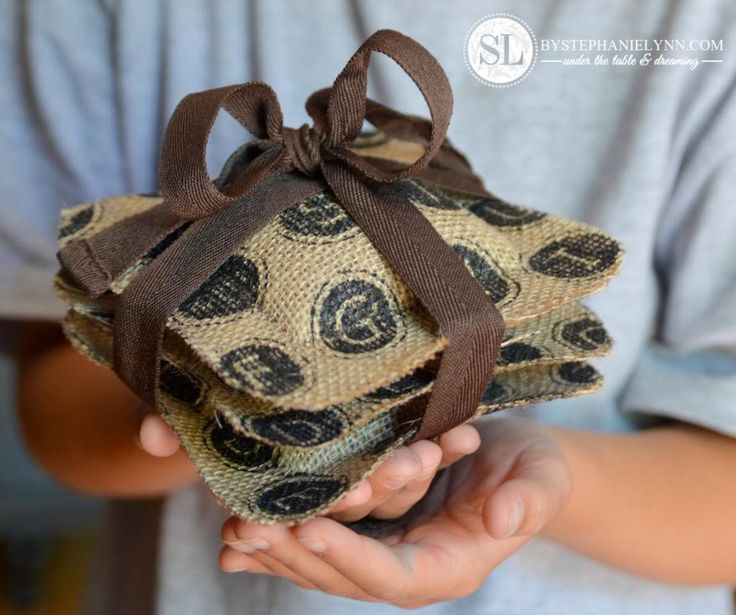 No-Sew Scented Sachets   quick & easy homemade gifts - bystephanielynn