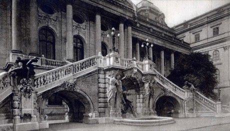 Budavári Palota - Habsburg-lépcső