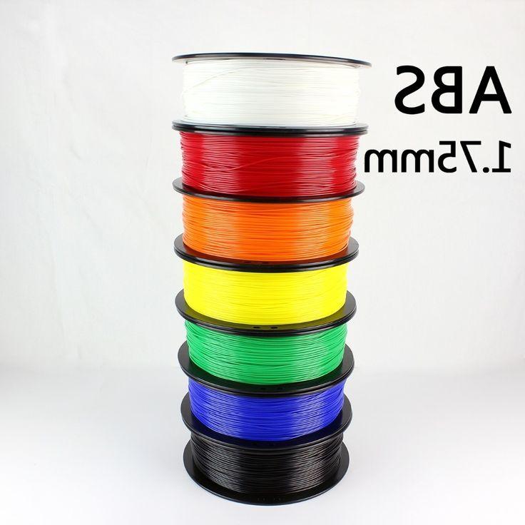 33.60$  Buy here - https://alitems.com/g/1e8d114494b01f4c715516525dc3e8/?i=5&ulp=https%3A%2F%2Fwww.aliexpress.com%2Fitem%2F3D-Printer-Filament-ABS-Plastic-1-75mm-1kg-1-75-MM-6-Colors%2F32481533422.html - 3D Printer Filament ABS Plastic 1.75mm 1kg 1.75 MM 7 Colors Acrylonitrile Butadiene Styrene 33.60$