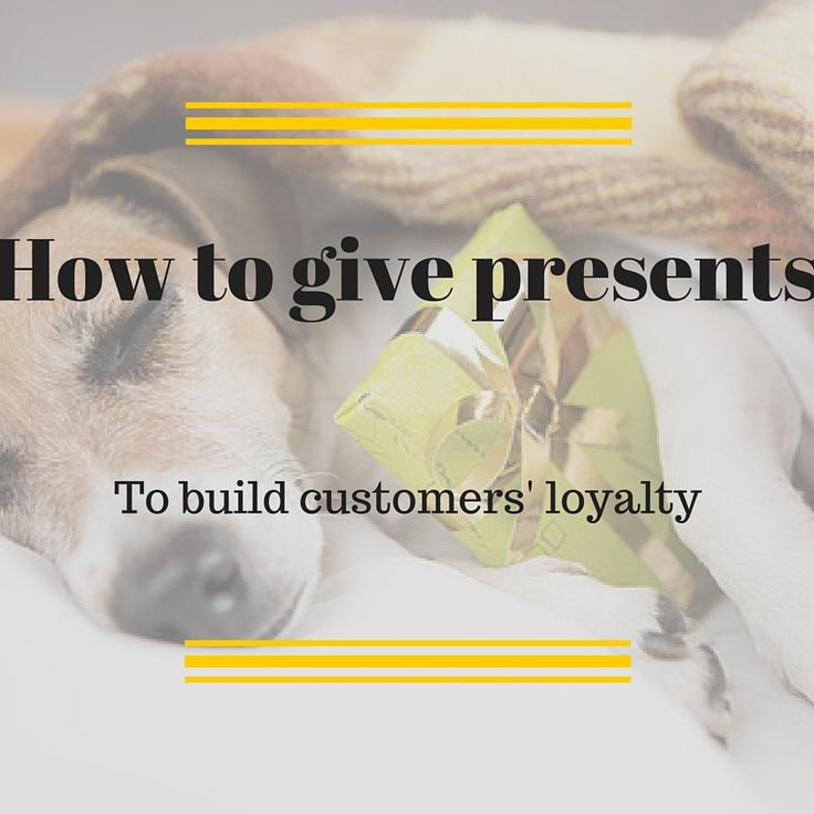3 simple tricks to turn presents into loyalty - building tools [...] #CRMforMobile #MobileMarketingAutomation #gifts #presents #loyalty