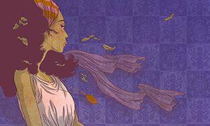 Nancy Peña, auteur et illustrateur; elle est née le 13 août 1979 à Toulouse. Les couleurs de ses dessins sont bien precises et travaillées et les détails sont appliqués, les fonds sont soignés.  Moritz et Lena