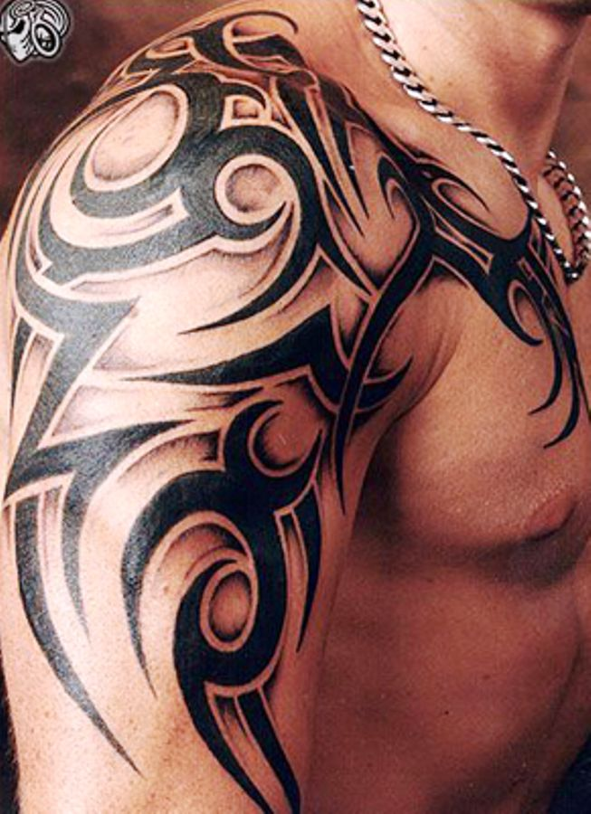 b9138eb44 30 Best Tribal Tattoo Designs For Mens Arm | we | Tribal tattoos, Tribal  arm tattoos, Tribal shoulder tattoos