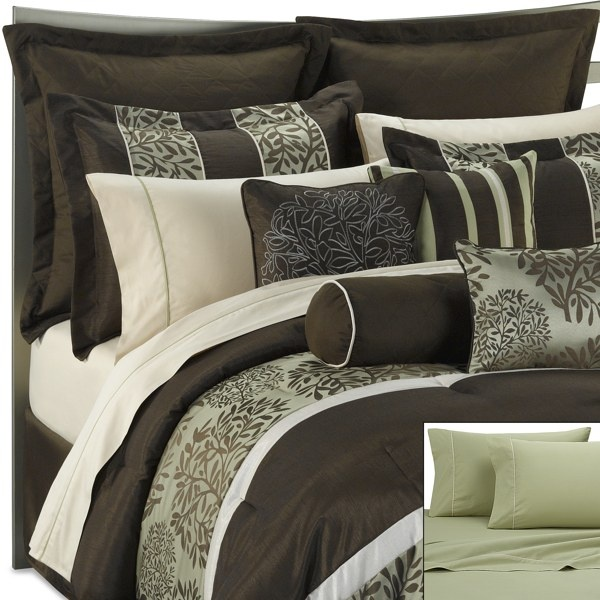 Bedroom Decor Kohl S 33 best green and brown bedding images on pinterest | brown