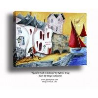 'Spanish Arch in Galway' by Sylwia Knop from My Magic Ireland Collection
