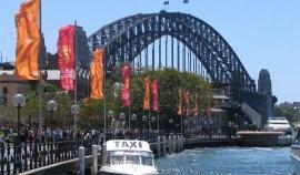 Le rainbow bridge à Sydney
