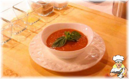 Fesleğenli Soğuk Domates Çorbası - lezzetler.com Yemek Tarifleri