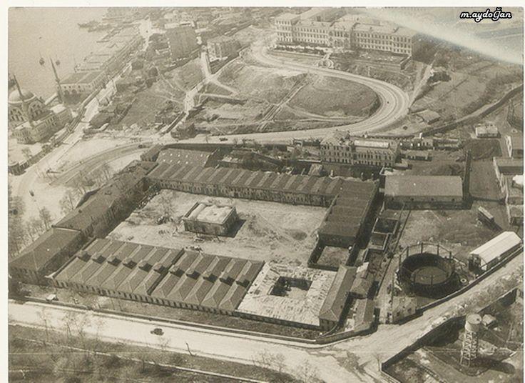 Dolmabahçe, Has Ahırlar, İstanbul, 1920'ler İnönü stadı yok