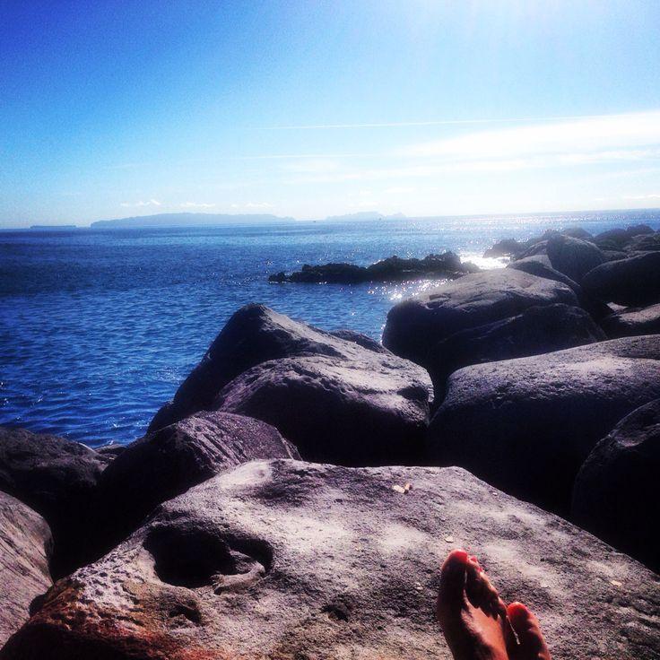 Melhor dia de Praia em pleno mês de Novembro....!!! Uma das vantagens de viver nesta Ilha!!!