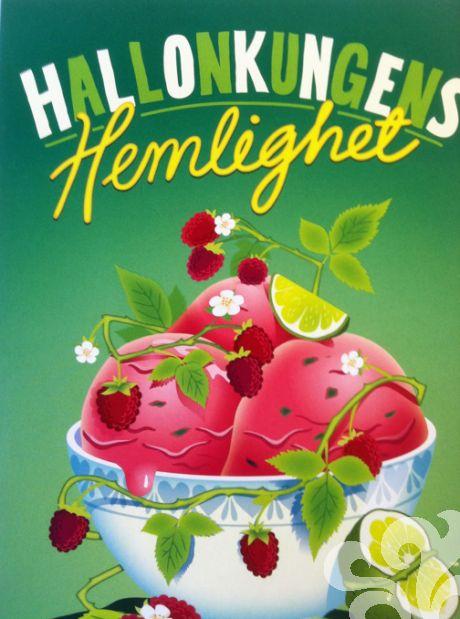 Hallonkungens Hemlighet - Hallonglass med lime & basilika | baka.se