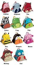 NEW Child Animal Zoo Kids Toddler Backpack School Nursery Bag Satchel Travel