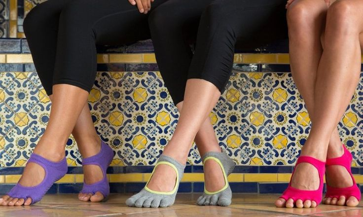 Full Toe Bella Grip Socks for Pilates, Yoga and Barre