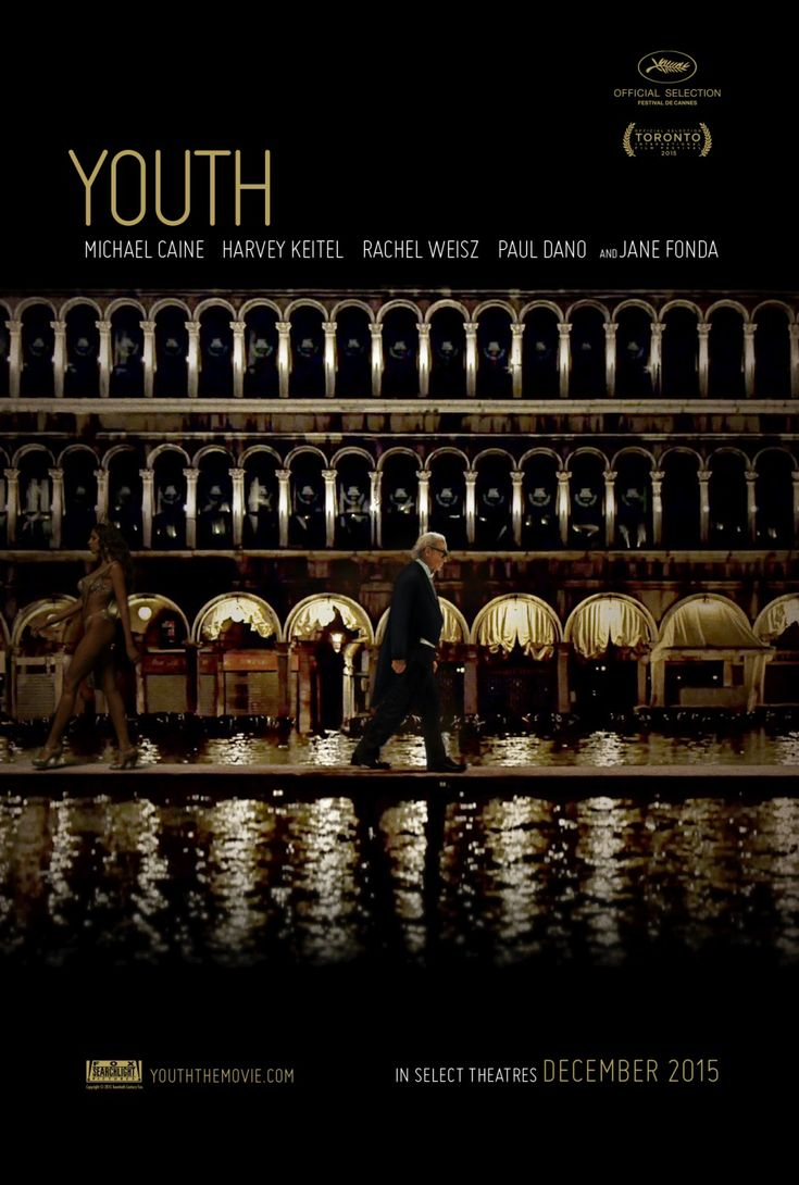 Youth (Paolo Sorrentino, 2015) http://www.bathfilmfestival.org.uk/film/youth/