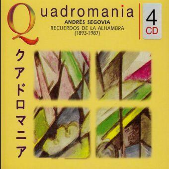 Andres Segovia: Recuerdos De La Alhambra (4CD) - Dalnok Kiadó Zene- és DVD Áruház - Komolyzene, klasszikus zene