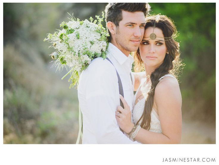 Bohemian Wedding Inspiration : Sabrina+Cody - Jasmine Star Photography Blog