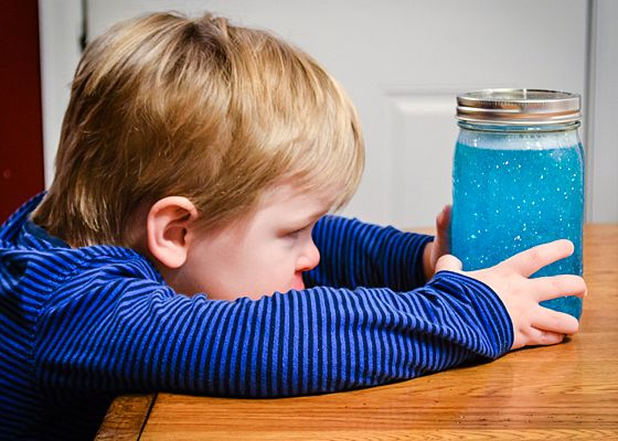 DIY Calm Down Jar for Toddlers » Daily Mom