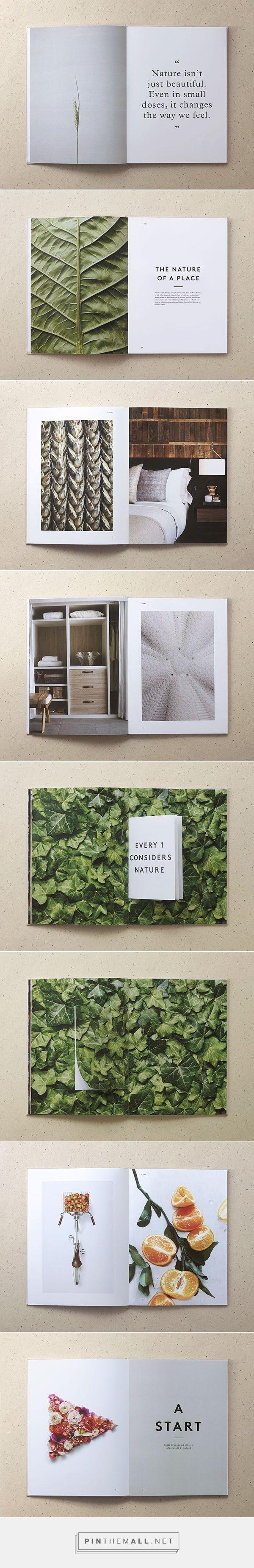 1 Hotels / by Jules Tardy & Christian Cervantes | Brochure, Catalog, Portfolio Design | Pinterest