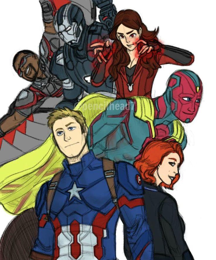 DeviantArt: More Like Avengers Countdown Wallpaper + Vision by ...