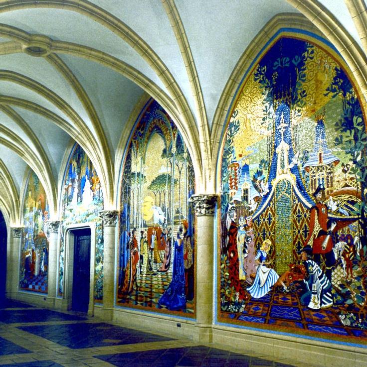 25 best ideas about cinderella castle on pinterest for Cinderella castle mural