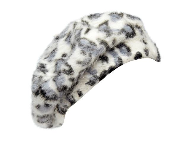 Snow Leopard beret