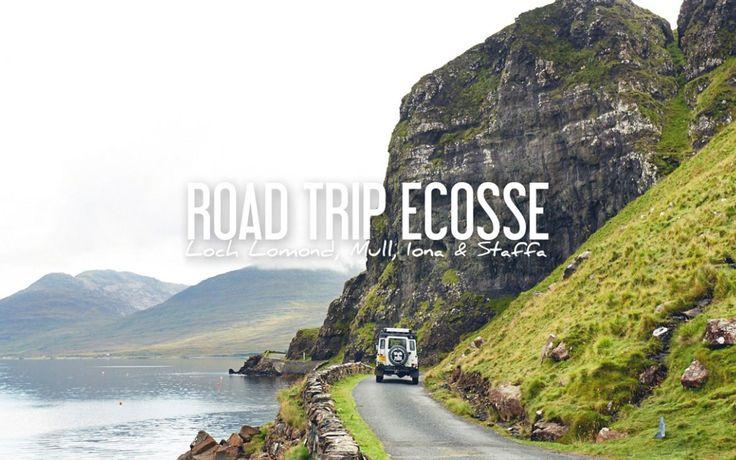 ECOSSE | ROAD TRIP DE 5 JOURS: Iles de Mull, Iona et Staffa #Ecosse #Scotland #iles #isles #roadtrip #camper #campingcar