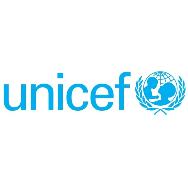 The font used for the Unicef is probably Univers Light. Designed by Adrian Frutiger in 1954, Univers is a realist sans serif typeface that is clear and highly legible.