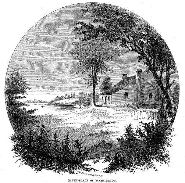The first child of Augustine Washington (1694–1743) and his second wife, Mary Ball Washington (1708–1789), George Washington was born on their Pope's Creek Estate near present-day Colonial Beach in Westmoreland County, Virginia