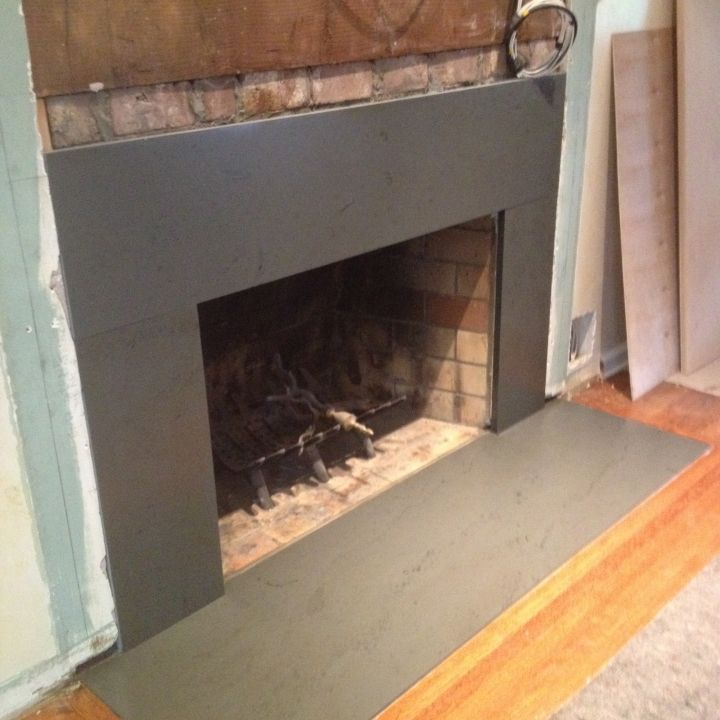 Fireplace surrounds and Slate fireplace surround