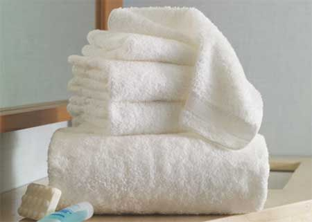 Over sized soft and fluffly towels make the bath just perfect  #CILserenity